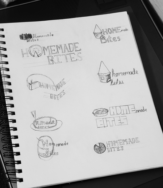 Homemade Bites Sketches